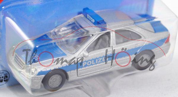 00003 Mercedes-Benz C 320 (Baureihe W 203, Modell 2000-2004) Peterwagen, graualuminiummetallic/hell-