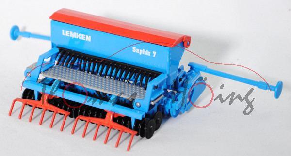 LEMKEN Saphir 7/300-DS 125 (mit Doppelscheibenscharen und Tiefenführungsrollen / Reihenabstand 125 m