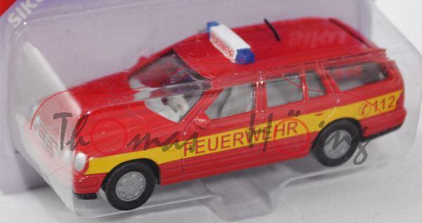 Mercedes-Benz E 290 Turbodiesel T (Baureihe S 210, Modell 1996-1999) Feuerwehr-Einsatzleitwagen, kar