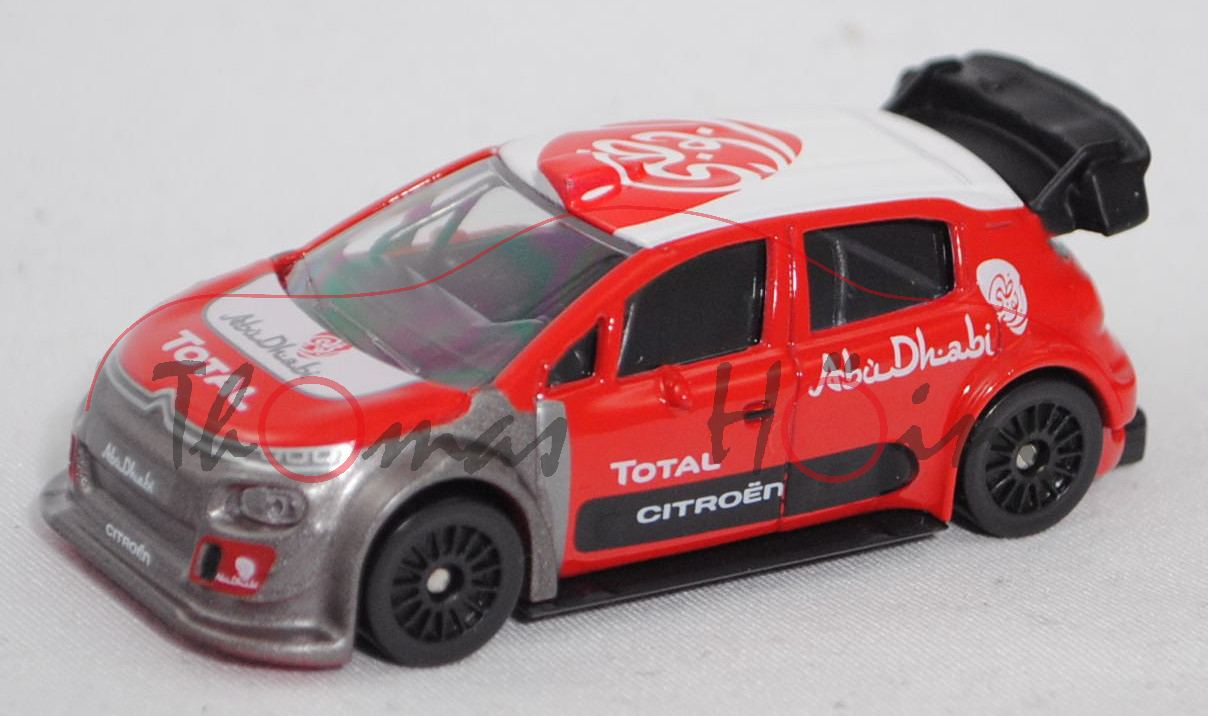 Norev Multigam 319151 Citroen C3 WRC Test FIA WRC Rallye Saison 2017 Loeb//Elena