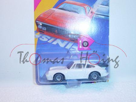 00000 Porsche 911 Turbo 3,3 (G-Modell Typ 930), Modell 1978-1989, reinweiß, B4, P21 (Schachtel geöff
