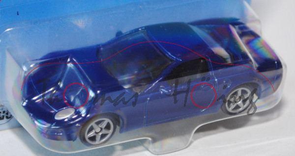 00000 SIKU Sport 3 / SIKU CRUISER (vgl. Corvette C6 Coupé, Modell 2005-2007), hell-kobaltblau, innen