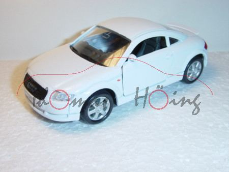 Audi TT Coupe, Mj. 1998, weiß, Welly, 1:36