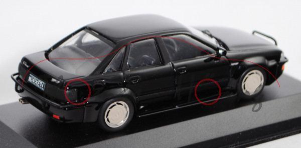 Treser Audi Hunter Typ 89, schwarz, 1:43, Automodelle Höing, mb, Handarbeitsmodell, limitierte Aufla
