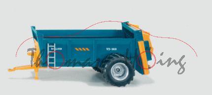 00100 Universalstreuer, blau/gelb, ROLLAND, V2-160, L17, F