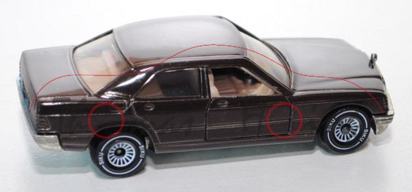 00000 Mercedes-Benz 190 E (Baureihe W 201, Baumuster 201.024, Modell 1982-1988), schokoladenbraun, i