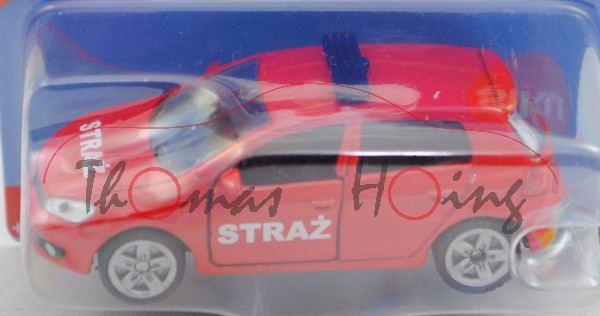 06000 PL VW Golf VI 2.0 TDI (Typ 1K, Mod. 08-12) Firefighter Car, rot, STRAZ, P29e (Limited Edition)