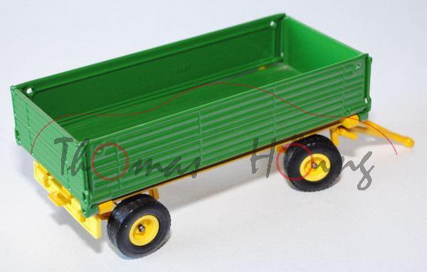 Zweiachs-Anhänger, smaragdgrün/kadmiumgelb, L17