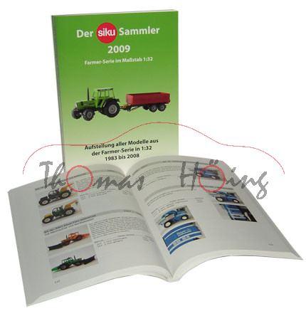 Der siku Sammler (grüner Katalog), Aufstellung aller Modelle der Farmer Serie 1:32 von 1983 bis 2008