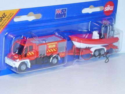 84000 Mercedes-Benz Unimog U 400 (Baureihe U 405, langes Fahrgestell, Modell 2001-2014) Feuerwehr Ta