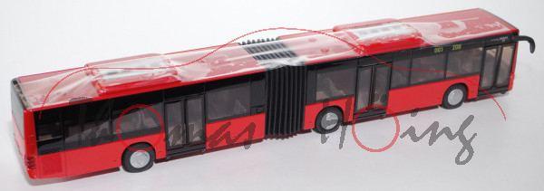 99900 MAN Lion\'s City G Gelenkbus (Typ A23, Modell NG 263), hell-karminrot, o.K., 1:50, L17mK, EU