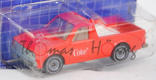 00002 VW Rabbit Pickup (vgl. Caddy I) (Typ 14D, Mod. 79-83), verkehrsrot, innen + Lenkrad reinweiß,