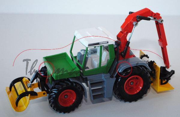 Fendt Xylon Forstmaschine, smaragdgrün/fehgrau/verkehrsrot/signalgelb, L15