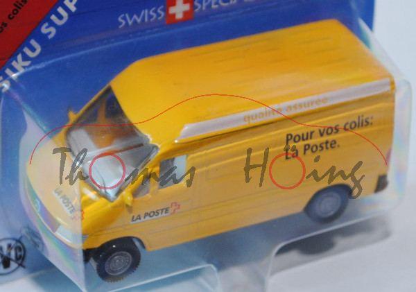 03900 Mercedes-Benz Sprinter (T1N, Baureihe W 901) Kastenwagen Postwagen, Modell 1995-2000, signalge