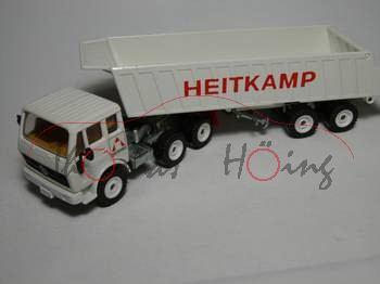 00002 Mercedes 2232 Sattelkipper, weiß, HEITKAMP, LKW12, 1:55, m-