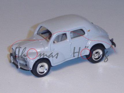 Renault 4 1946, lichtgrau, 1:54, Norev RETRO, mb
