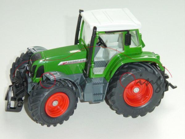 Fendt Favorit 716 Vario, smaragdgrün/grau, L15