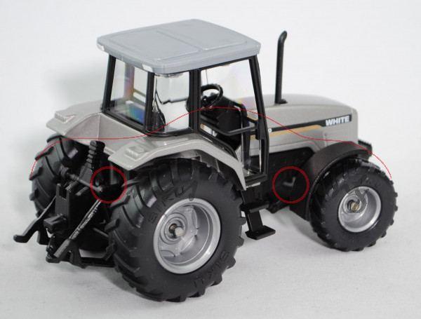 00301 AGCO WHITE 6810 Traktor (Mod. 98-01, Produktionsstandort: Banner Lane in Tile Hill, Coventry),
