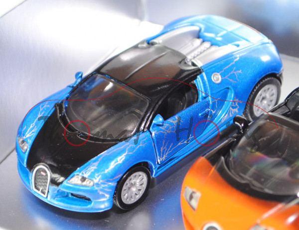 00701 bugatti-set 2: eb 16.4 veyron + eb 16.4 veyron grand sport