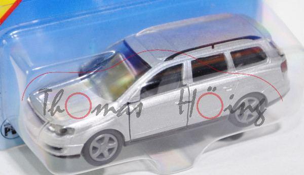 00001 VW Passat Variant 2.0 FSI (B6, Typ 3C, Modell 2005-2010), silbergraumetallic, innen basaltgrau