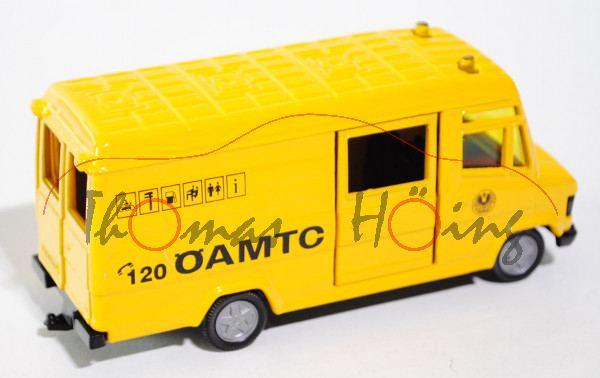 03800 Mercedes-Benz 809 D (Typ T 2 neu, Baumuster: 670) ÖAMTC-Service-Transporter, Modell 1986-1996,