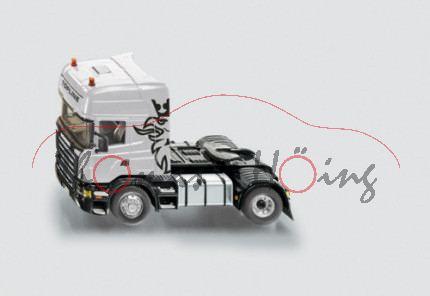 Scania R620 TOPLINE V8 Zugmaschine mit Fernsteuerung, silber, SIKU Control Funk-Technologie (Radio C