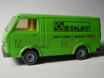 VW LT 28 Kastenwagen, Modell 1975-1986, gelbgrün, STAUFF, m-
