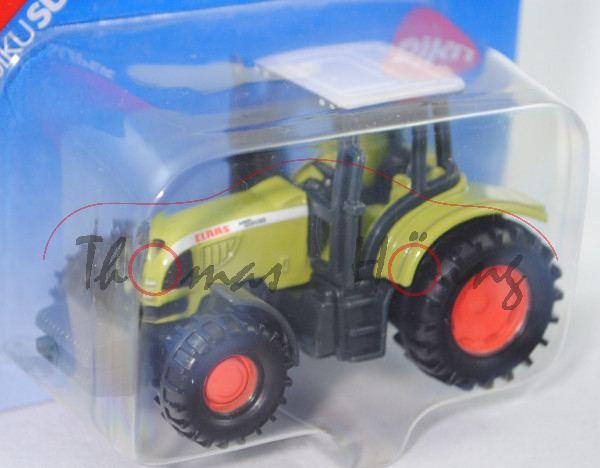 CLAAS ARES 697 ATZ Traktor (Mod. 05-07), signalweiß/claasgrün/anthrazitgrau, Sitz+Lenkrad anthrazitg
