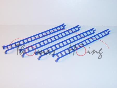 4 Stück Leitern, ultramarinblau (Sondermodell Siku-Museum)