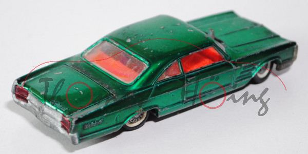 Buick Wildcat Sport Coupe, minzgrünmetallic, innen rotorange, Lenkrad schwarz, Fac weg sonst komplet