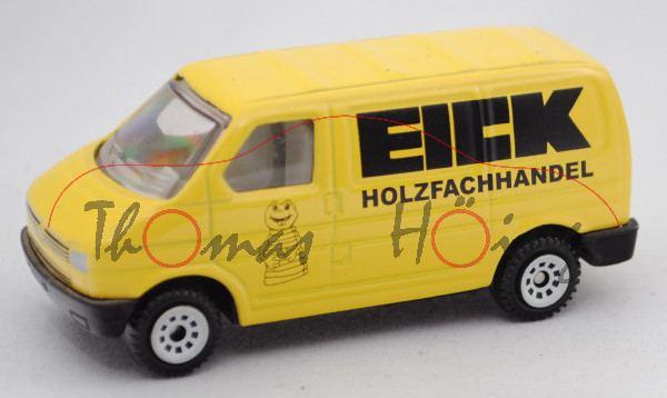 00434 VW T4 Transporter Kastenwagen (Typ 70, Modell 1990-1995), zinkgelb, EICK