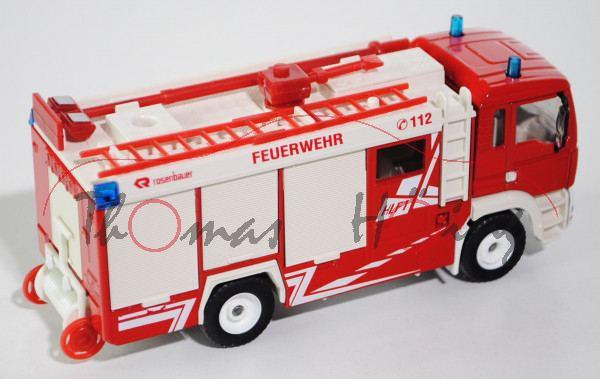 Hilfeleistungslöschfahrzeug HLF MAN TGA 18.460 M Feuerwehr (Aufbau: Rosenbauer, ES Euro System), ver