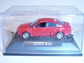 Audi RS6, rot, Mj 2004, Yat Ming, 1:72, mb