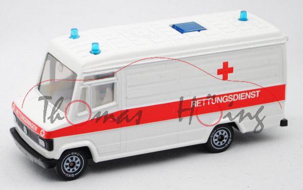 00000 Mercedes-Benz 809 D Kastenwagen (Typ T 2 neu, Modell 1986-1992) DRK-Rettungsdienst