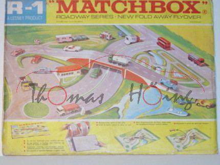 New Fold Away Flyover, Matchbox Roadway Series, mb