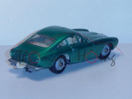 Ferrari Berlinetta, dunkelgrünmetallic, Matchbox Series