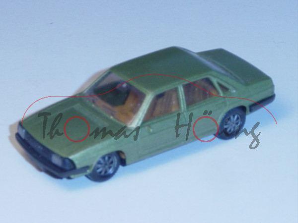 Audi 100 GL 5E, Typ 43, Mj. 1976, grünmetallic, Herpa, 1:87