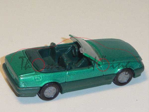 00001 Mercedes-Benz 500 SL (R 129, Baumuster 119.960, Mod. 89-92), türkisgrünmetallic, innen+Lenkrad
