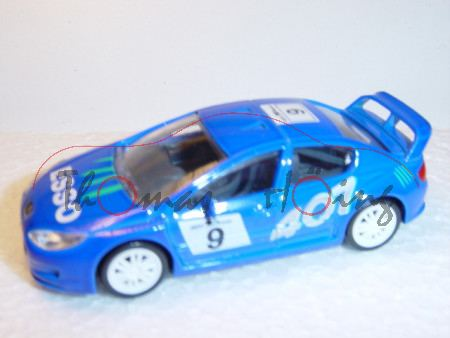 Peugeot 407 Silhouette, blau, ESSO, Nr. 9, Norev Racing, 1:50, mb