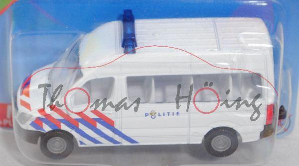 00300 NL Mercedes-Benz Sprinter II (NCV 3, W 906, Mod. 06-13) Bus Police Van, weiß, POLITIE, P29e