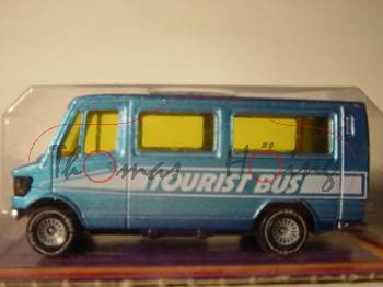 Mercedes 208 (Baureihe TN, Typ T 1) Bus, Modell 1977-1982, blau, TOURIST BUS, P17 (s/w)