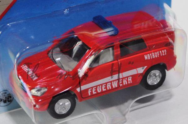 03800 Toyota RAV4 2.2 D-CAT 4x4 (3. Generation, Typ CA30W), Modell 2006-2009, blutorange, FEUERWEHR
