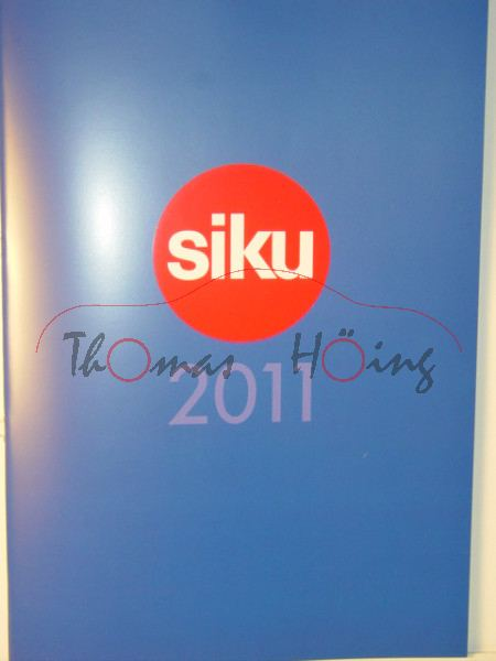 Siku-Katalog 2011, DIN-A4, 90 Seiten (EAN 4006874090013)
