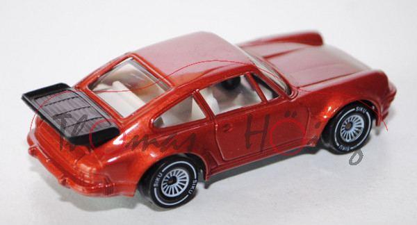 00001 Porsche 911 Turbo 3,3 (G-Modell Typ 930, Modell 1978-1989), broncitrotmetallic, innen reinweiß