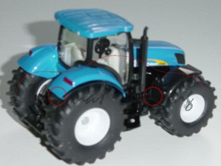 New Holland 7070, himmelblau/schwarz, New Holland 7070, 1:50, L17