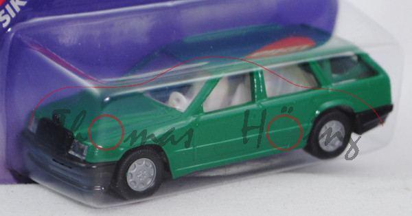 00008 Mercedes-Benz 300 TE (Baureihe S 124, Baumuster 124.090, Modell 1985-1986), türkisgrün, innen