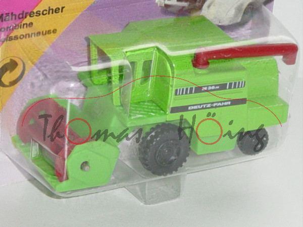 00000a DEUTZ-FAHR M 36.10 Hydromat Mähdrescher (Modell 1981-1989) mit Schneidwerk mit Messerbalken,