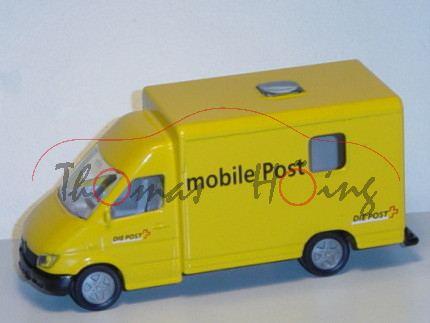 03900 Mercedes Sprinter (T1N Facelift 1, Baureihe W 903) 316 D Paketdienst mit Kofferaufbau (Herstel