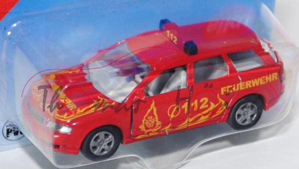 Audi A4 Avant 2.5 TDI quattro (B6, Typ 8E, Modell 2001-2004) Feuerwehr-Einsatzleitwagen, hell-karmin