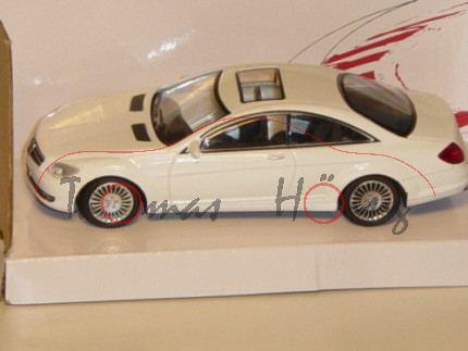 Mercedes CL Coupe, weiß, MondoMotors, 1:43, mb
